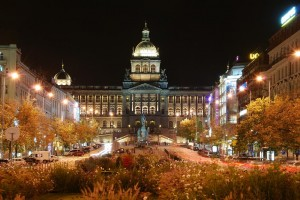 Wenceslas square, Praque