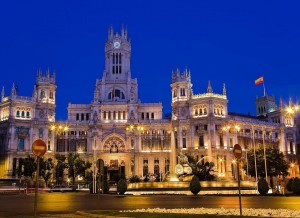 SPANIA MADRID PLAZA DE CIBELES