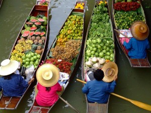 thailanda piata plutitoare bangkok